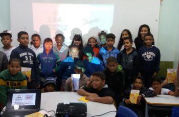 Infância Digital vai pra sala de aula na EC 12 de Ceilândia
